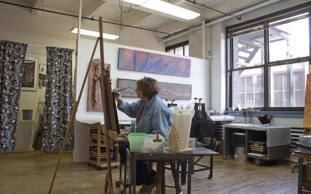 Open Studio in October 2019